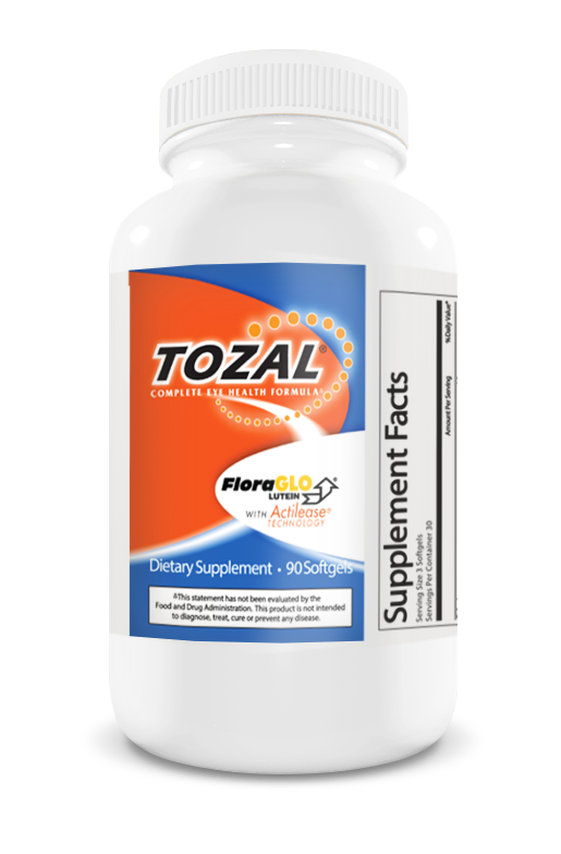 Tozal Eye Vitamins Bottle