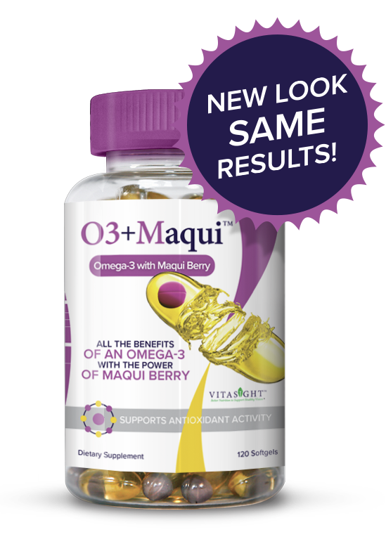 Maqui Vitasight Omega 3 Bottle